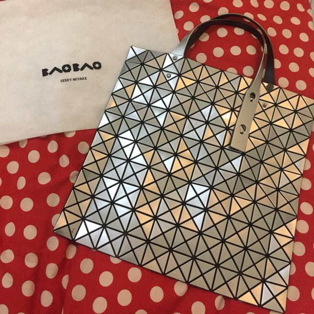 Original Bao Bao Issey Miyake Prism 10x10 In Silver