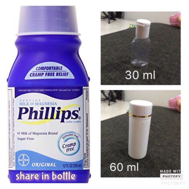 Phillips Magnesia as Primer (share in bottle)