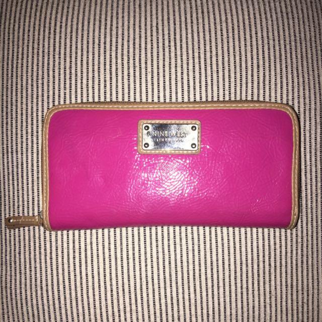 Pink Nine West Wallet