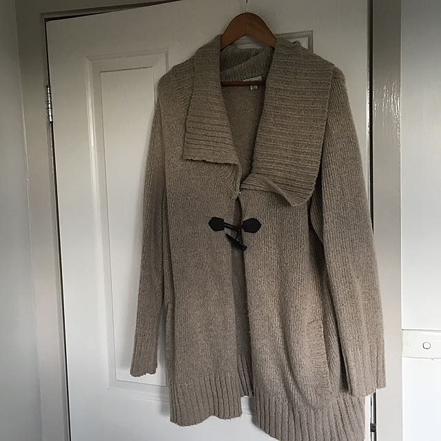 PLUS SIZE WOOLY JACKET