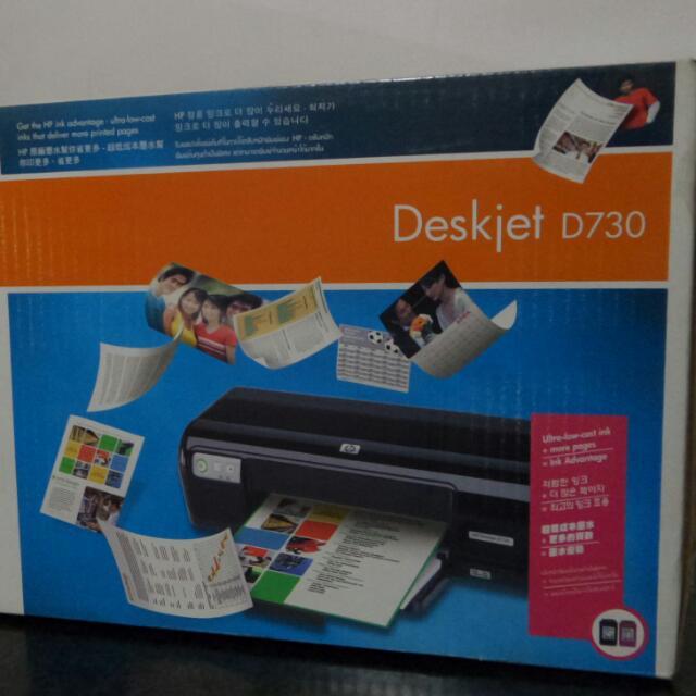 Preloved Printer Hp Deskjet