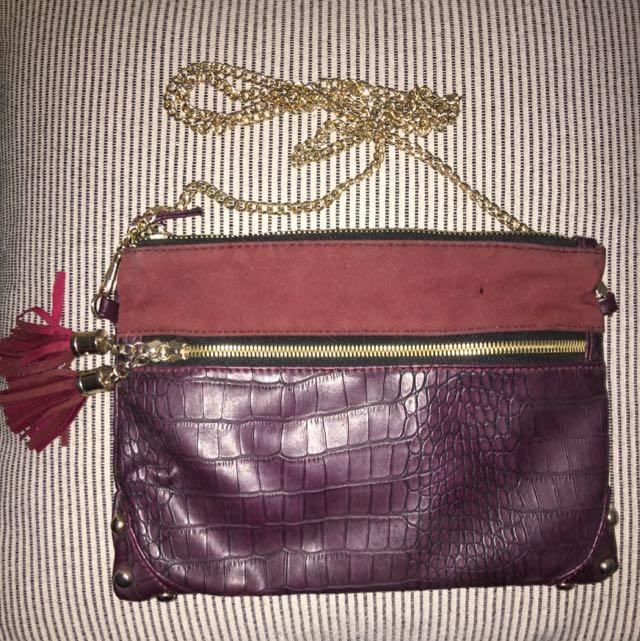 Purple Zip Bag