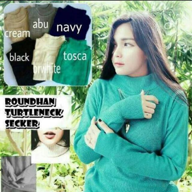 Roundhand Turtleneck Secker