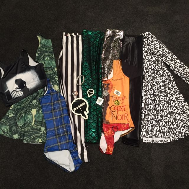 SELLING BLACK MILK COLLECTION