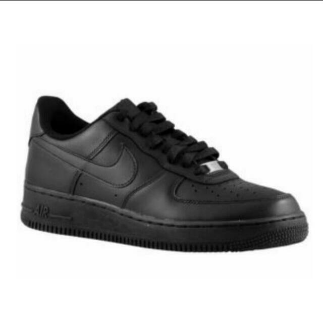 Nike Air Force One 82' Triple Black