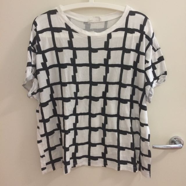 Zara Grid Shirt