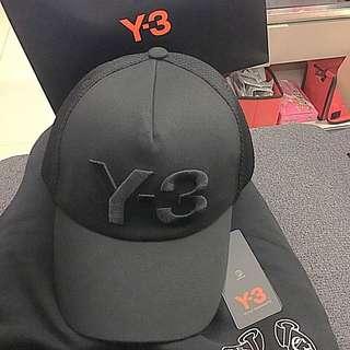 中性個性 Y3後扣網帽 男女皆可帶 幾乎全新 買到賺到