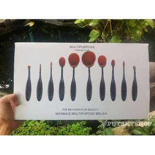 Multipurpose Makeup Brush [OVAL BRUSH] by Bobbi Brown