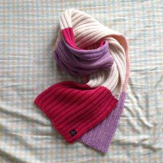 Colourful Knit Scarf