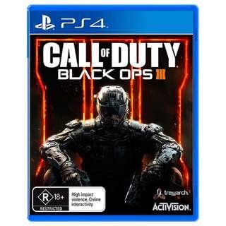 PS4 COD Black Ops
