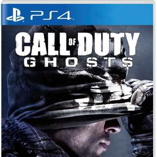PS4 COD Ghosts