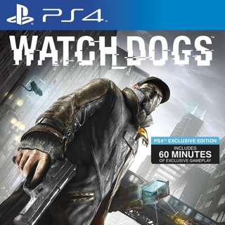 PS4 Watchdogs