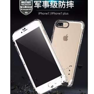 優惠 鋼化 30元 免運 iPhone7 防撞 空壓殼 防塵塞  iPhone 7 plus 5.5吋  可 掛繩