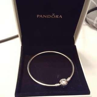 AUTHENTIC Pandora Charm Bangle Bracelet || Small NAME YOUR PRICE (Reason Below)