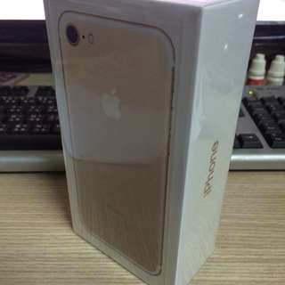 Iphone7 iPhone 7 I7 I 7 128g金色