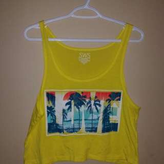 Crop Top; Large