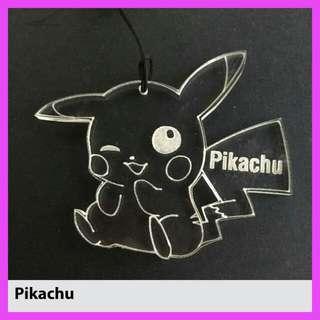 pokemon  pikachu Customized Keychain