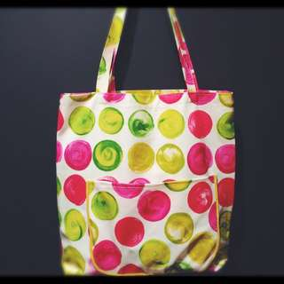 Colorfull Hand Made Tote Bag