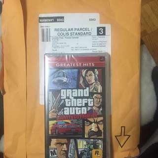 Grand Theft Auto PSP umd