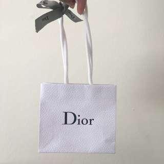 Small Dior Shopping Bag