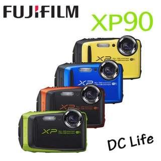 FUJIFILM 富士 XP90 防水運動相機 (公司貨) 近全新