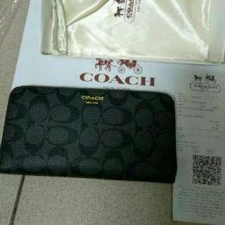 Coach全新長夾