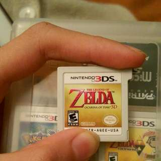 3ds legend of zelda ocarina of time north american ver og 2011