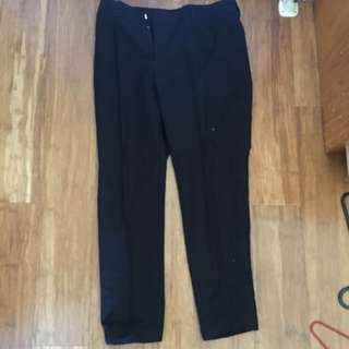 Business Black Pants