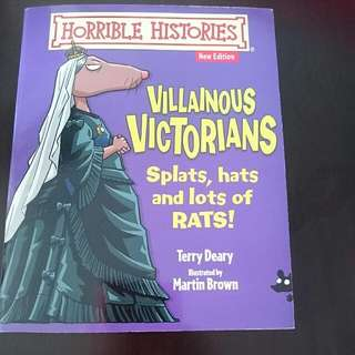 Villainous Victorians Children's Book