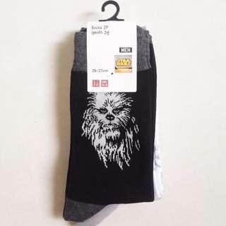 UNIQLO starwars socks 2 pairs