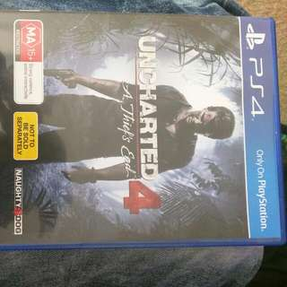 Ps4 Uncharted 4.