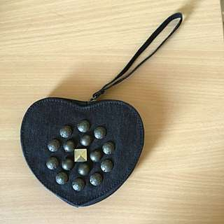 Heart-shaped Clutch