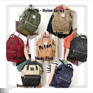 Original Anello Bags (In Stock) - Nylon