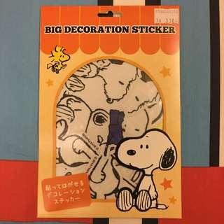 史努比 Snoopy 行李紙