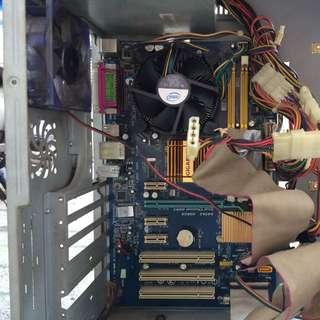 Set PC (Personal Computer) Intel Core2Duo Murah