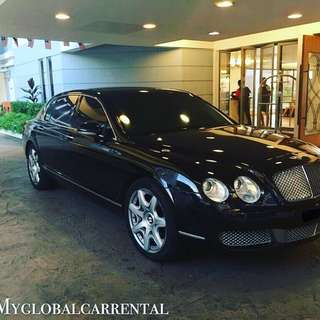 Bently Flying Spur For Rental