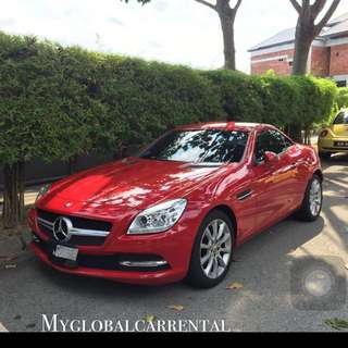 Mercedes Slk200 For Rental