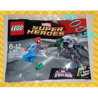 Lego Spiderman Polybag - Super Jumper
