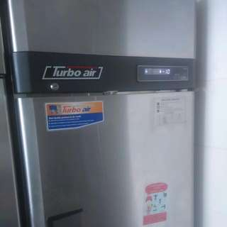 (Reserved With Deposit) Turbo Air Standing 2 Doors Commercial Freezer
