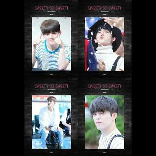 (SHARING) SCOUPS / JEONGHAN / HOSHI / WONWOO FANSITE SEASON GREETINGS 💘💎
