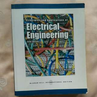 Principles And Applications Of Electrical Engineering (5th Edition)