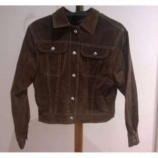 PRICE DROP! Vintage Genuine Suede Leather Jacket