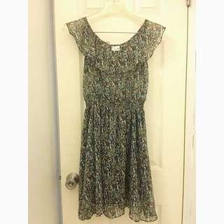 Repricrd: Freeway Chiffon Dress