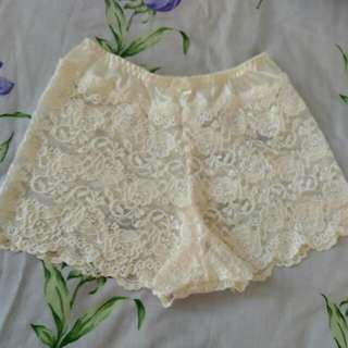 New. Lace Boxer