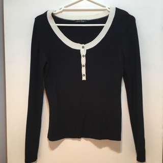 Long Sleeve Top Size 8-10
