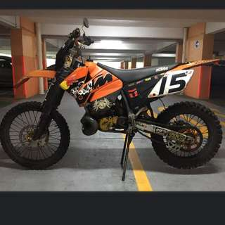 KTM 250cc - 2 Stroke 💨💨