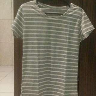 Grey Striped Tshirt