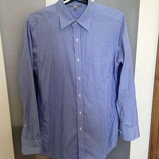 Uniqlo Blue Long Sleeves