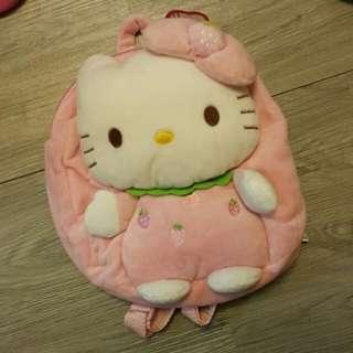 Hello Kitty 毛毛小朋友背囊