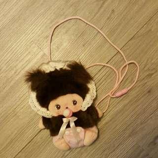 Monchichi小朋友手挽袋